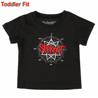 T-shirt pour enfants Slipknot - Star Logo- ROCK OFF, ROCK OFF, Slipknot