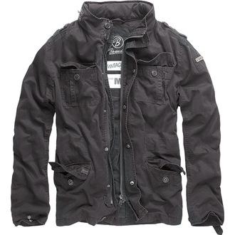 veste printemps / automne pour hommes - Britannia - BRANDIT - 3116-black