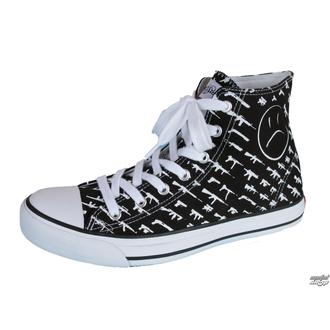 chaussures de tennis montantes pour femmes - Alpha High Gunshow - ROGUE STATUS, ROGUE STATUS