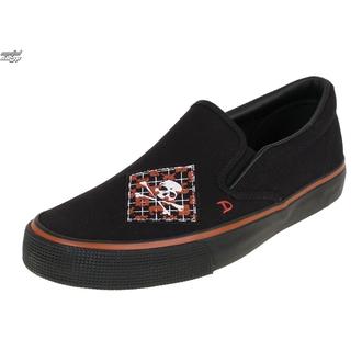 chaussures de tennis basses pour hommes - Argyle Patch Slip on - DRAVEN - MCDR 860, DRAVEN