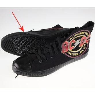 chaussures de tennis montantes pour hommes AC-DC - Sneakers - F.B.I., F.B.I., AC-DC
