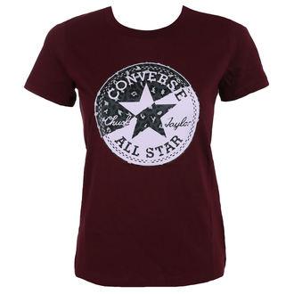 tee-shirt street pour femmes - Spliced Leopard - CONVERSE, CONVERSE