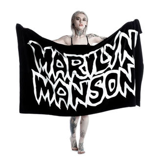 serviette KILLSTAR - MARILYN MANSON - Avoid the Sun - Noir, KILLSTAR, Marilyn Manson