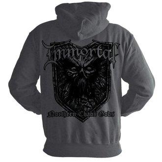 sweat-shirt avec capuche pour hommes Immortal - Chaos GREY - NUCLEAR BLAST, NUCLEAR BLAST, Immortal