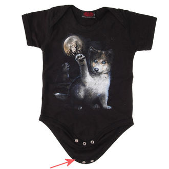 Body enfant SPIRAL - WOLF PUPPY - ENDOMMAGÉ, SPIRAL