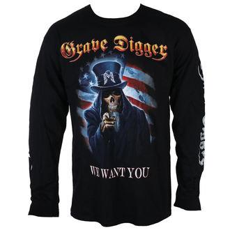 tee-shirt métal pour hommes Grave Digger - UNCLE SAM 2016 - Just Say Rock, Just Say Rock, Grave Digger
