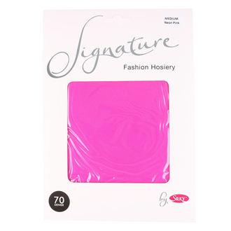 collants LEGWEAR - signature 70 denier  - néon rose, LEGWEAR