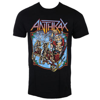 tee-shirt métal pour hommes Anthrax - Christmas Is Coming - ROCK OFF, ROCK OFF, Anthrax