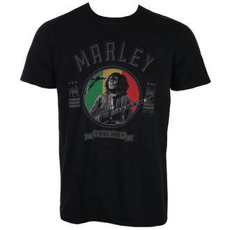 tee-shirt métal pour hommes Bob Marley - Rebel Music - ROCK OFF, ROCK OFF, Bob Marley