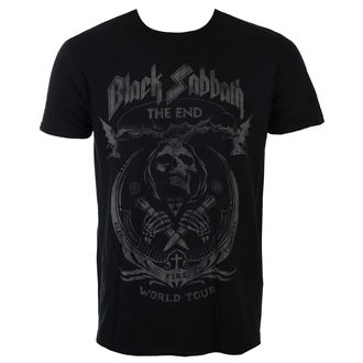 tee-shirt métal pour hommes Black Sabbath - The End Mushroom Cloud - ROCK OFF, ROCK OFF, Black Sabbath