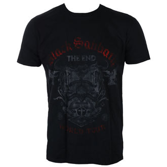tee-shirt métal pour hommes Black Sabbath - The End Reading Skull - ROCK OFF, ROCK OFF, Black Sabbath