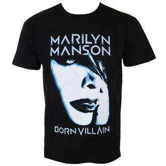 tee-shirt métal pour hommes Marilyn Manson - Born Villain - ROCK OFF, ROCK OFF, Marilyn Manson