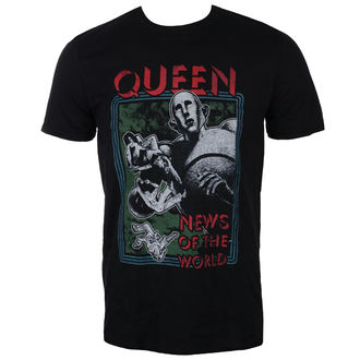 tee-shirt métal pour hommes Queen - News of the World - ROCK OFF, ROCK OFF, Queen