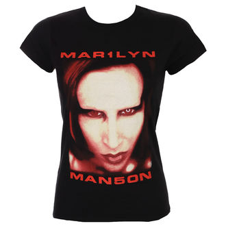 tee-shirt métal pour femmes Marilyn Manson - Bigger Than Satan - ROCK OFF, ROCK OFF, Marilyn Manson
