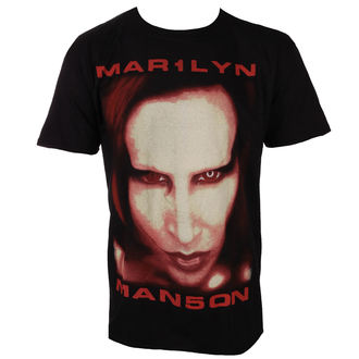 tee-shirt métal pour hommes Marilyn Manson - Bigger Than Satan - ROCK OFF, ROCK OFF, Marilyn Manson