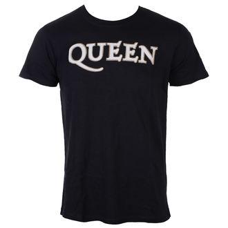 tee-shirt métal pour hommes Queen - Logo & Crest - ROCK OFF, ROCK OFF, Queen