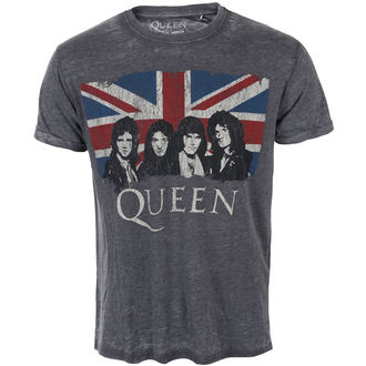 tee-shirt métal pour hommes Queen - Vintage Union Jack - ROCK OFF, ROCK OFF, Queen
