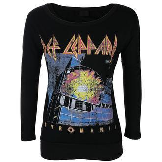 tee-shirt métal pour femmes Def Leppard - VINTAGE PYROMANIA - LIVE NATION, LIVE NATION, Def Leppard