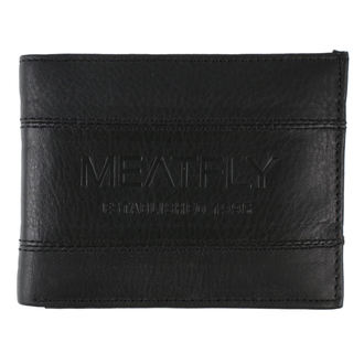 Portefeuille MEATFLY - Hurricane Leather - Noir Cuir, MEATFLY