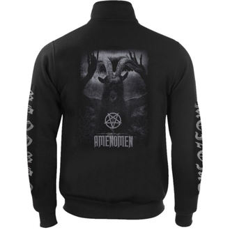 sweat-shirt sans capuche pour hommes - UNDER THE UNSACRED MOONLIGHT - AMENOMEN - OMEN054CS