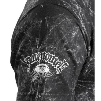 t-shirt hardcore pour hommes - TEAM SATAN - AMENOMEN - OMEN082KM ALLPRINT WHITE