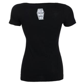 t-shirt hardcore pour femmes - Insatiable Frenzy Scoop - Akumu Ink, Akumu Ink