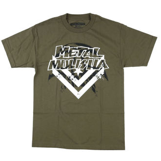 tee-shirt street pour hommes - DARKNESS - METAL MULISHA, METAL MULISHA