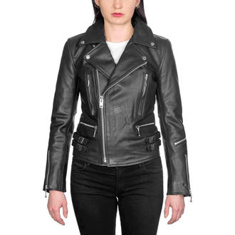 veste en cuir - Defector Blk Nick - STRAIGHT TO HELL, STRAIGHT TO HELL