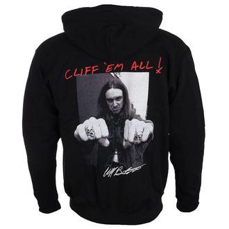 sweat-shirt avec capuche pour hommes Metallica - Cliff Burton - NNM, NNM, Metallica