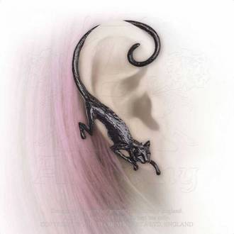 Boucle d'oreille ALCHEMY GOTHIC - Cat Sith, ALCHEMY GOTHIC