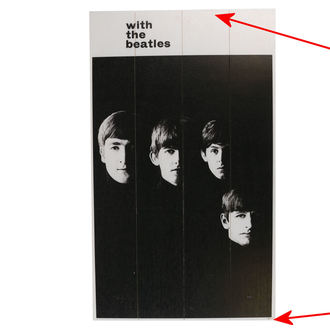 Image en bois des Beatles - A Hard Days Night - PYRAMID POSTERS - ENDOMMAGÉ, PYRAMID POSTERS, Beatles