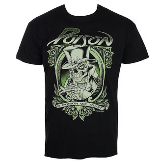 tee-shirt métal pour hommes Poison - Black - HYBRIS, HYBRIS, Poison