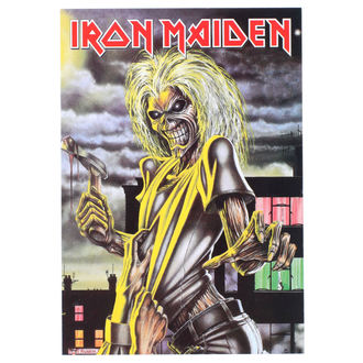 Carte postale Iron Maiden - ROCK OFF, ROCK OFF, Iron Maiden