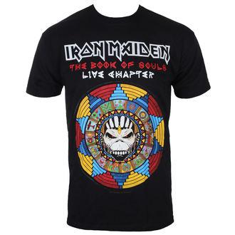 tee-shirt métal pour hommes Iron Maiden - BOS Live - ROCK OFF, ROCK OFF, Iron Maiden