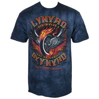 tee-shirt métal pour hommes Lynyrd Skynyrd - Big Wheels - LIQUID BLUE, LIQUID BLUE, Lynyrd Skynyrd
