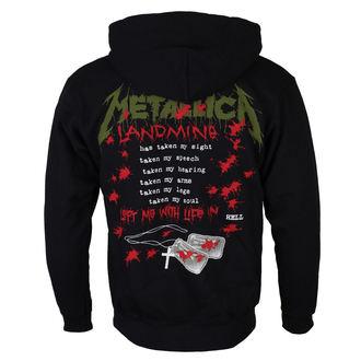 sweat-shirt avec capuche pour hommes Metallica - One Landmine - NNM, NNM, Metallica