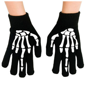 Gants TOO FAST - UP YOURS SKELETON HAND MIDDLE, TOO FAST