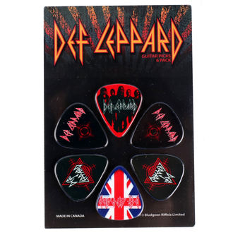 Plectrums Def Leppard - PERRIS LEATHERS, PERRIS LEATHERS, Def Leppard