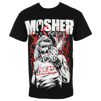tee-shirt métal pour hommes - Pete Flamin' Anger - MOSHER, MOSHER