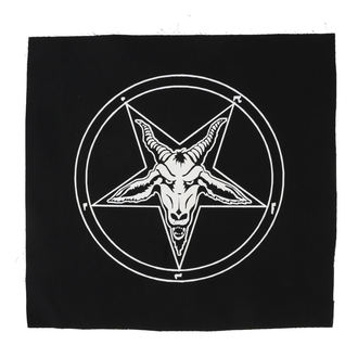 Grand patch Baphomet - pentagram