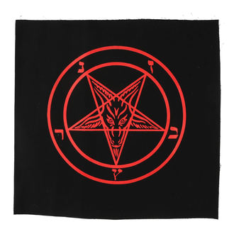 Grand patch Baphomet - pentagram