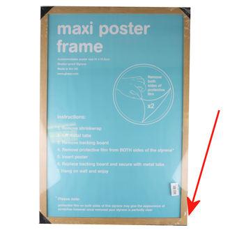 cadre à affiche (61x91,5 cm) - Oak - GB Posters - ENDOMMAGÉ, GB posters