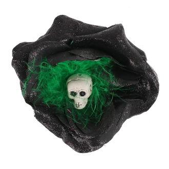 Epingle à cheveux - Noir / vert Plumes
