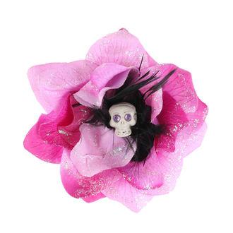 Epingle à cheveux  - Rose / Noir
