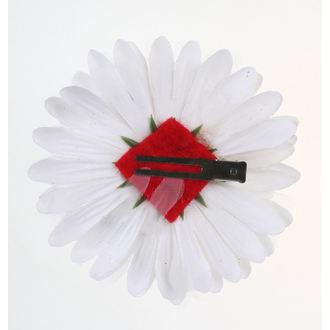 Epingle à cheveux - blanc / rouge