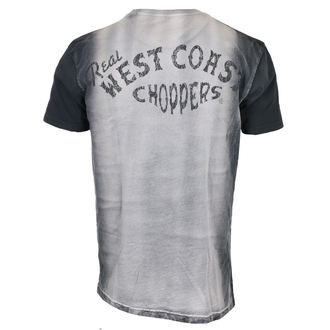 t-shirt pour hommes - REAL - West Coast Choppers, West Coast Choppers
