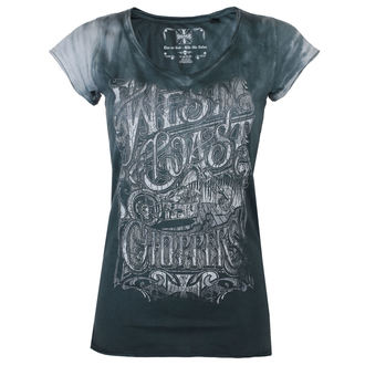 t-shirt pour femmes - LOCK UP - West Coast Choppers