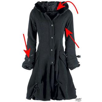 manteau pour femmes POIZEN INDUSTRIES - Alice - Noir - ENDOMMAGÉ, POIZEN INDUSTRIES