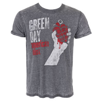 tee-shirt métal pour hommes Green Day - American Idiot Vintage - ROCK OFF, ROCK OFF, Green Day