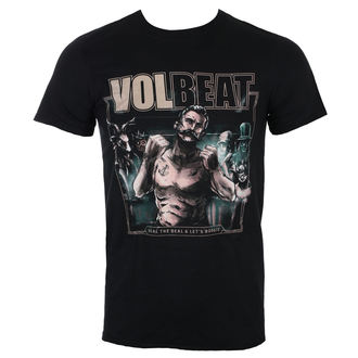 tee-shirt métal pour hommes Volbeat - Seal The Deal Cover - ROCK OFF, ROCK OFF, Volbeat